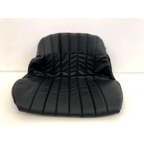 Sitzbezug PVC schwarz