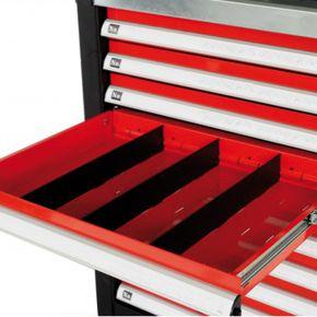 Schubladentrennwand 55 x 395 mm Werkstattwagen Zubehör