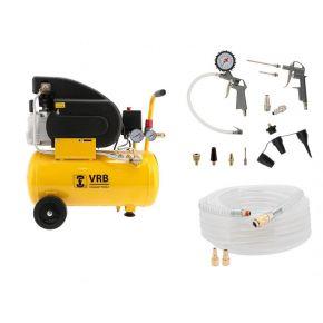 Kompressor 8LC24-1.5 VRB 8 bar 1.5 PS 125 l/min 24 l Plug & Play