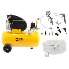 Kompressor 8LC50-2.0 VRB 8 bar 1.5 PS/1.1 kW 138 l/min 50 l Plug & Play