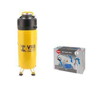 Kompressor 8LCV50-2.0 VRB 10 bar 2 PS 220 l/min 50 l Plug & Play