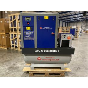 Schraubenkompressor APS 20 Combi Dry X 10 bar 20 PS/15 kW 1870 l/min 500 l (2te Chance)