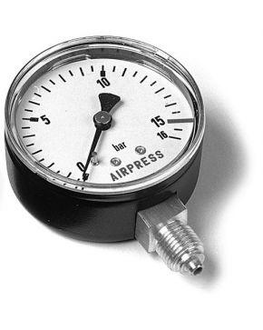 """Manometer 1/4"""" Anschluss unten"""