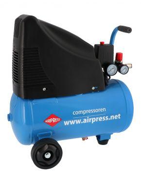 Kompressor Ölfrei HLO 215-25 8 bar 1.5 PS 172 l/min 24 l