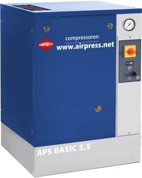 Schraubenkompressor APS 5.5 Basic 10 bar 5.5 PS 470 l/min
