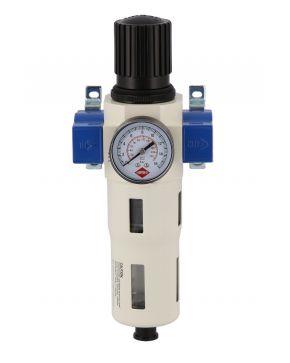 """Filterdruckminderer Öl-/Wasserabscheider und Druckminderer 3/8"""" 15 bar"""