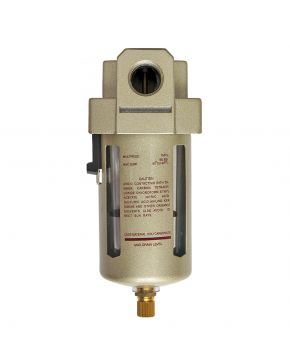 """Öl-/ Wasserabscheider 1/2"""" 10 bar 25 micron"""