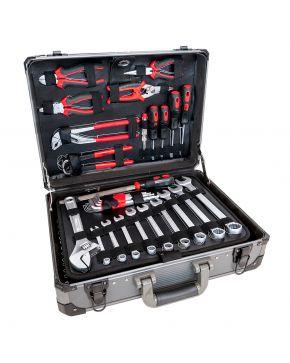 Werkzeugkoffer Aluminium 127 Teilig