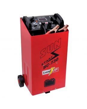 Batterieladegerät BC 730 mit Starthilfefunktion
