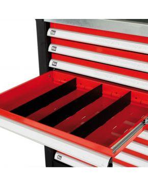 Schubladentrennwand 105 x 395 Werkstattwagen Zubehör