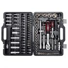 Steckschlüsselsatz 94-teilig mit Werkzeug aus Chrom-Vanadium