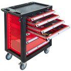 Werkstattwagen mit Sortiment 217 Teile 7 Schubladen