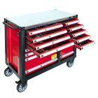 Werkstattwagen mit Sortiment 447 Teile 16 Schubladen