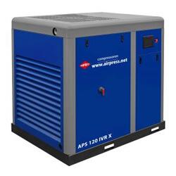 Schraubenkompressor ohne Trockner und Druckluftbehälter