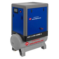 Airpress Schraubenkompressor mit Druckbehälter ohne Kältetrockner