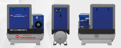 Schraubenkompressor APS 7.5 Combi Dry X Airpress