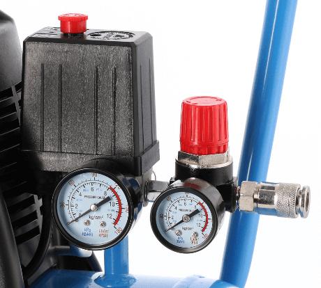 Ölfreier Kompressor HL 215-25 Manometer Reduzierventil