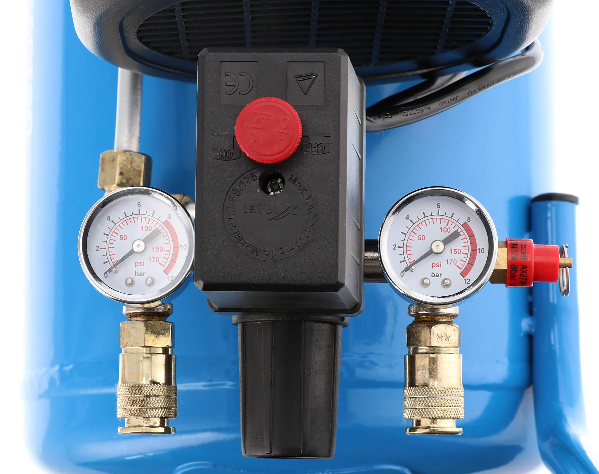Airpress Kompressor HL 310-25 Druckschalter Manometer