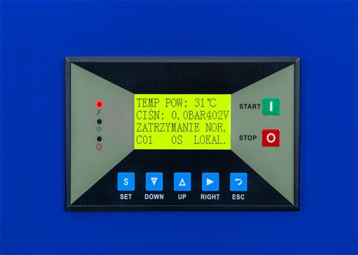 MAM-860 vollfarbiger Touchscreen Bedienungspanel APS 7.5 IVR Combi Dry X