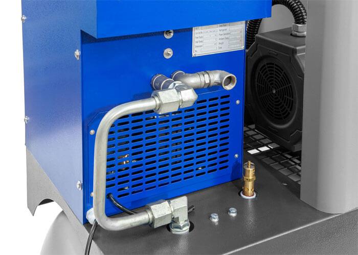 Hinterseite Kältetrockner Schraubenkompressor APS 7.5 Combi Dry X