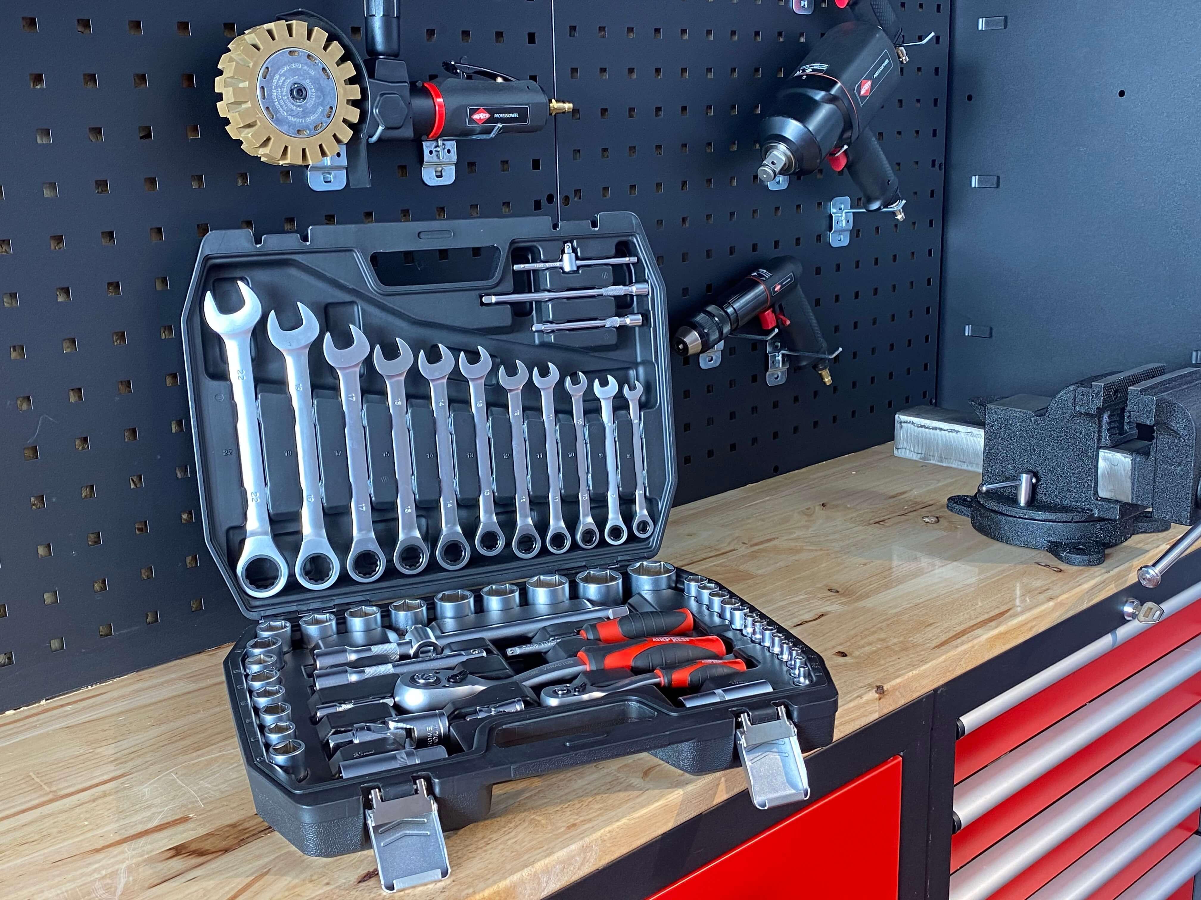 Werkzeugkoffer Steckschlüsselsatz 54 Teile 75248