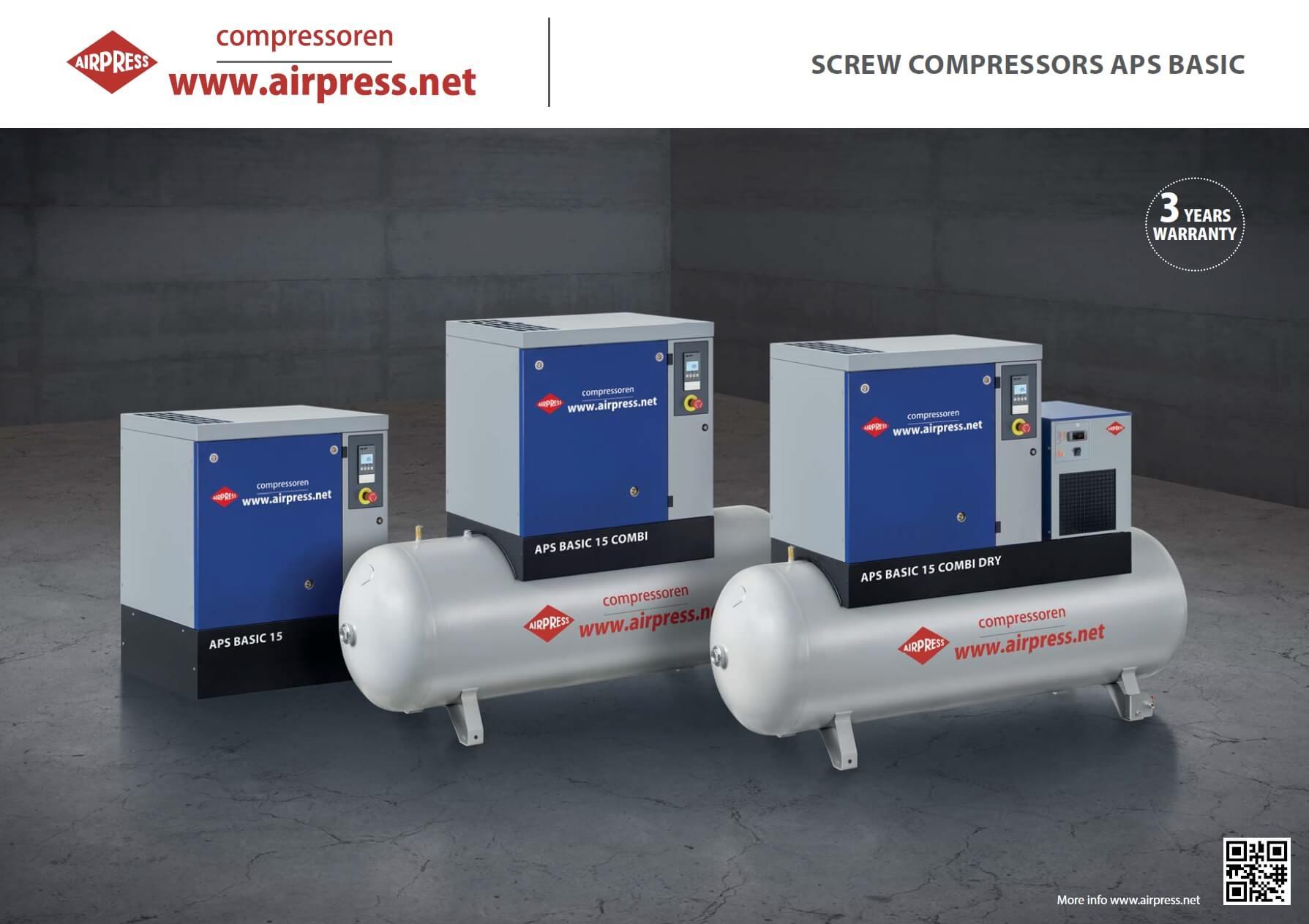 Schraubenkompressoren APS BASIC