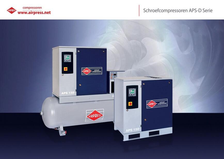 Professionelle Schraubenkompressoren APS D