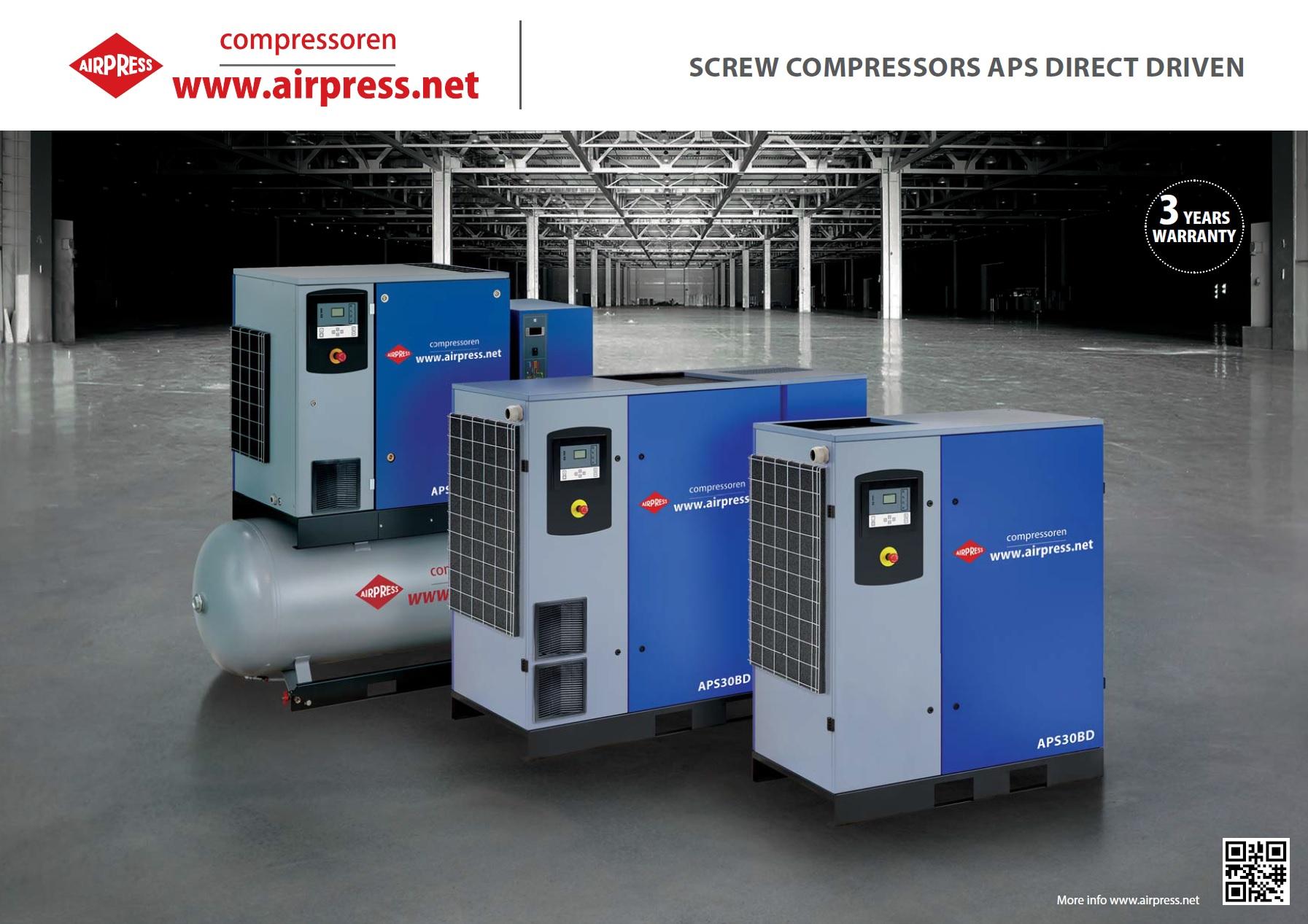 Schraubenkompressor Direktantrieb